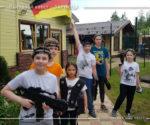 Зарница — выездной квест, команда Германия!