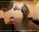 Комната в стиле лазертаг для дня рождения