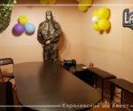 В стиле лазертаг — комната для празднования